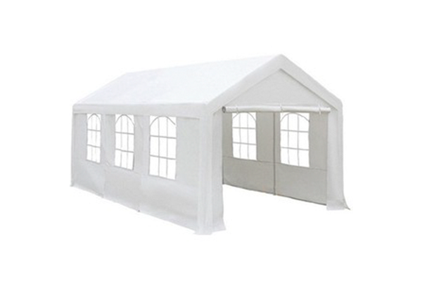Populair Partytent wit 6 x 3 - Party Service Oudewater MR31